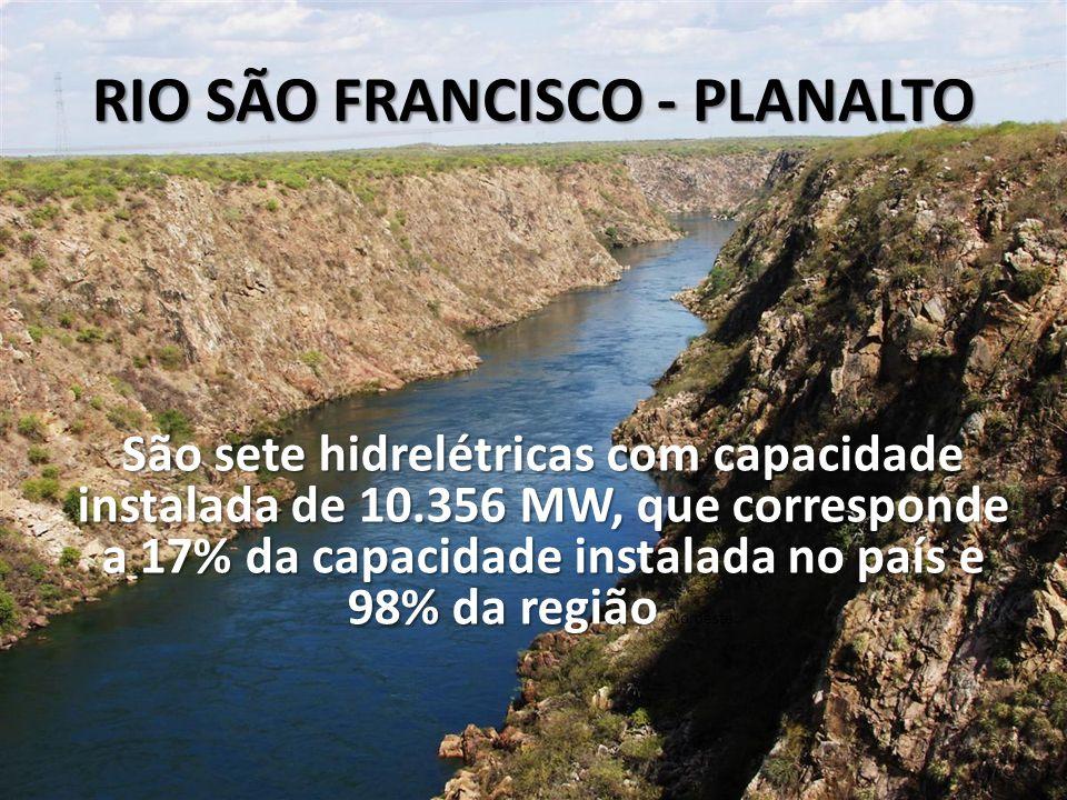 RIO SÃO FRANCISCO - PLANALTO