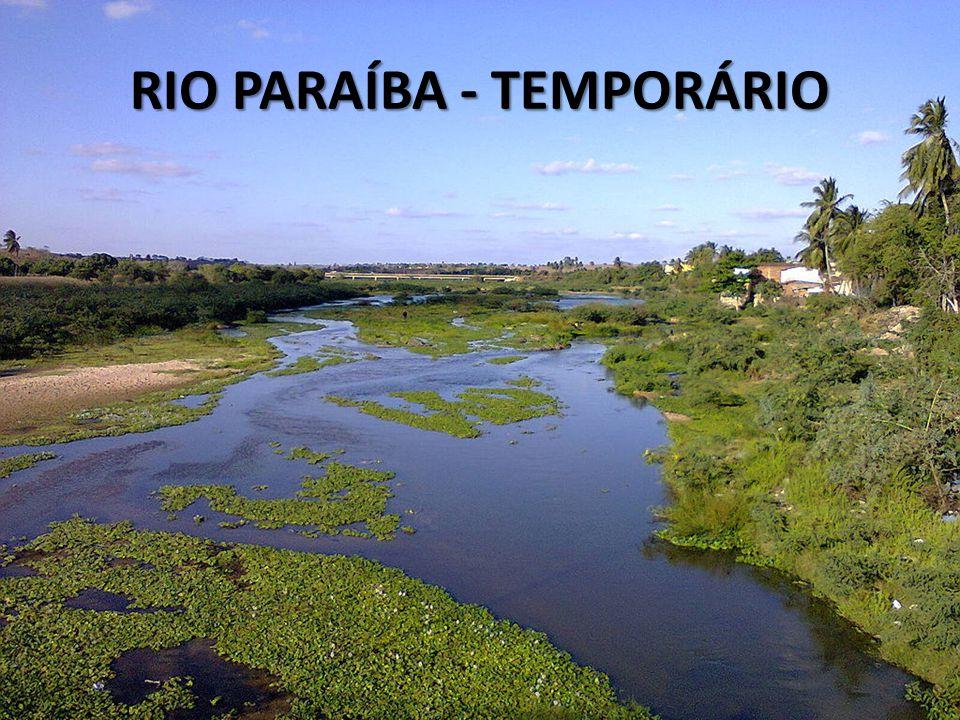 RIO PARAÍBA - TEMPORÁRIO
