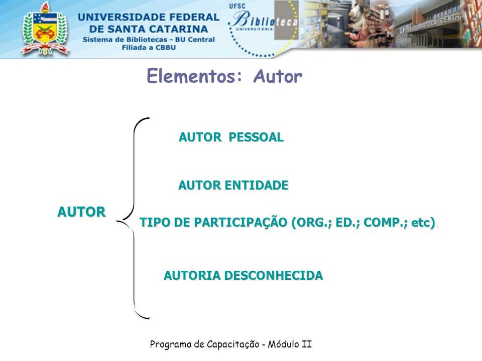 TIPO DE PARTICIPAÇÃO (ORG.; ED.; COMP.; etc).