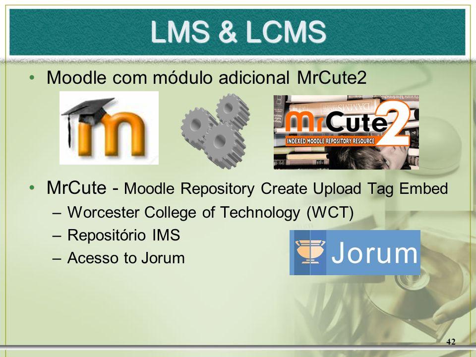 LMS & LCMS Moodle com módulo adicional MrCute2