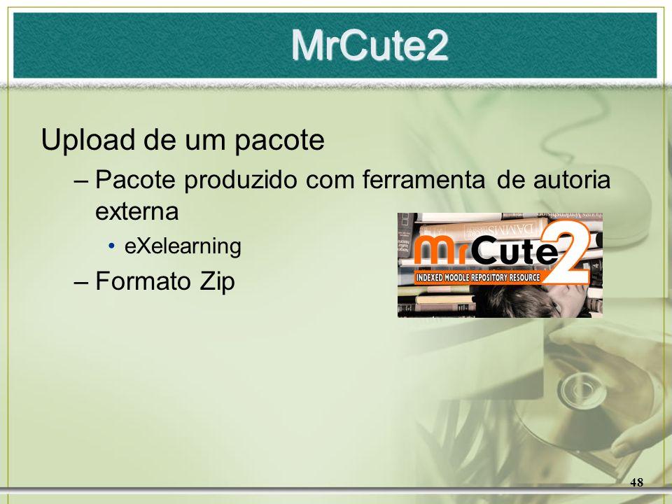 MrCute2 Upload de um pacote