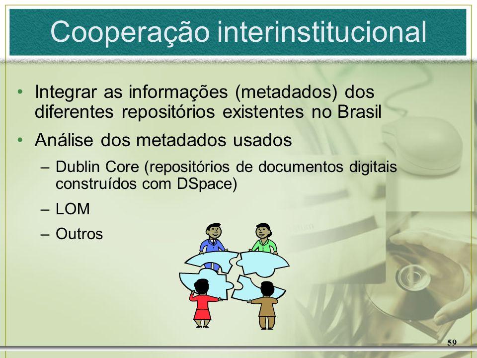 Cooperação interinstitucional