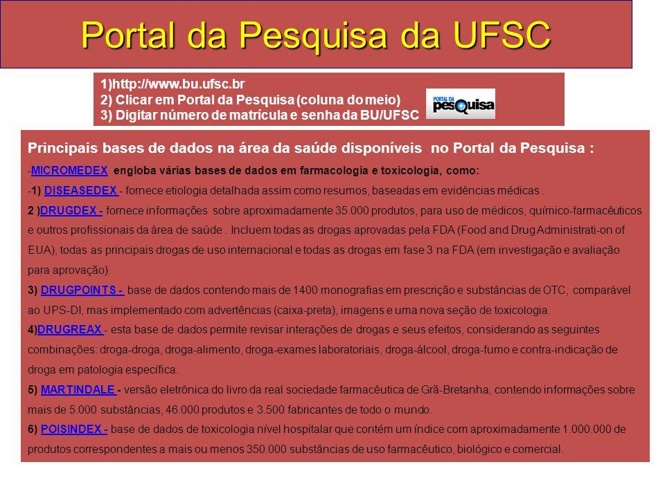 Portal da Pesquisa da UFSC