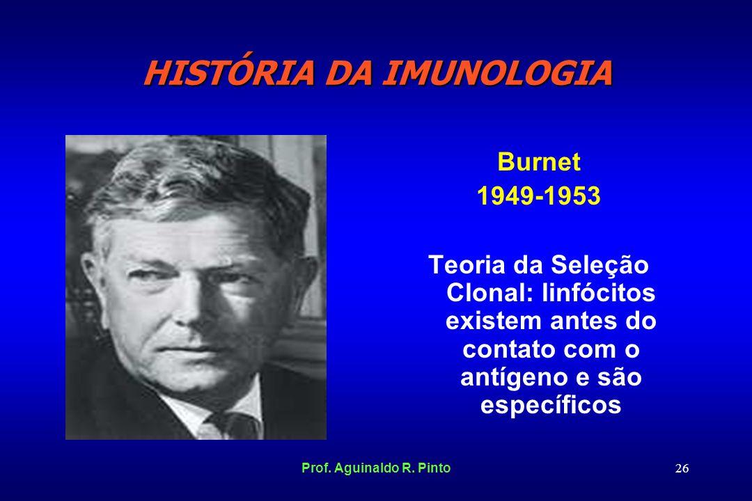 HISTÓRIA DA IMUNOLOGIA