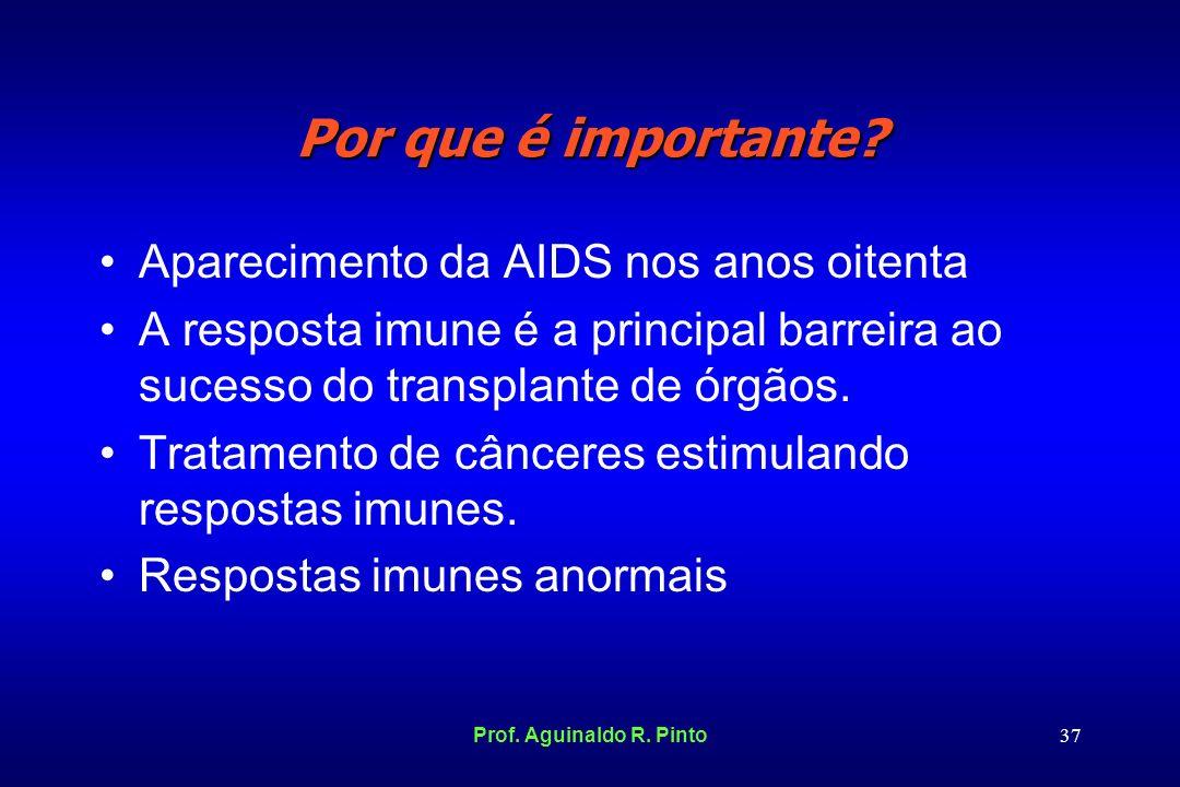 Por que é importante Aparecimento da AIDS nos anos oitenta