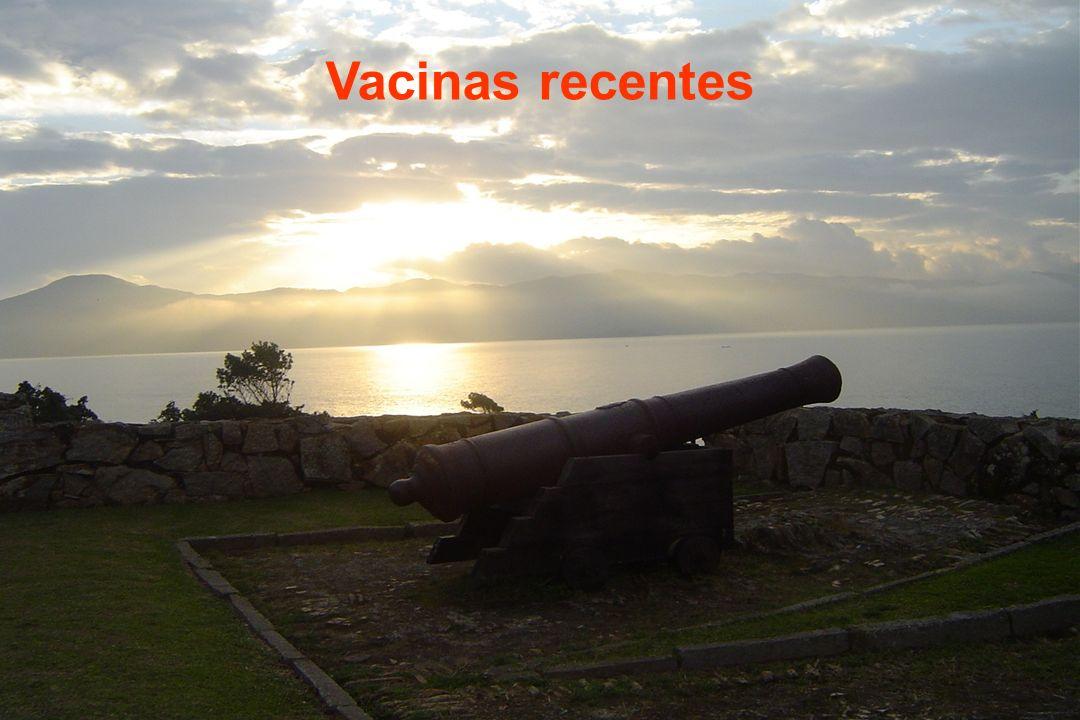 Vacinas recentes
