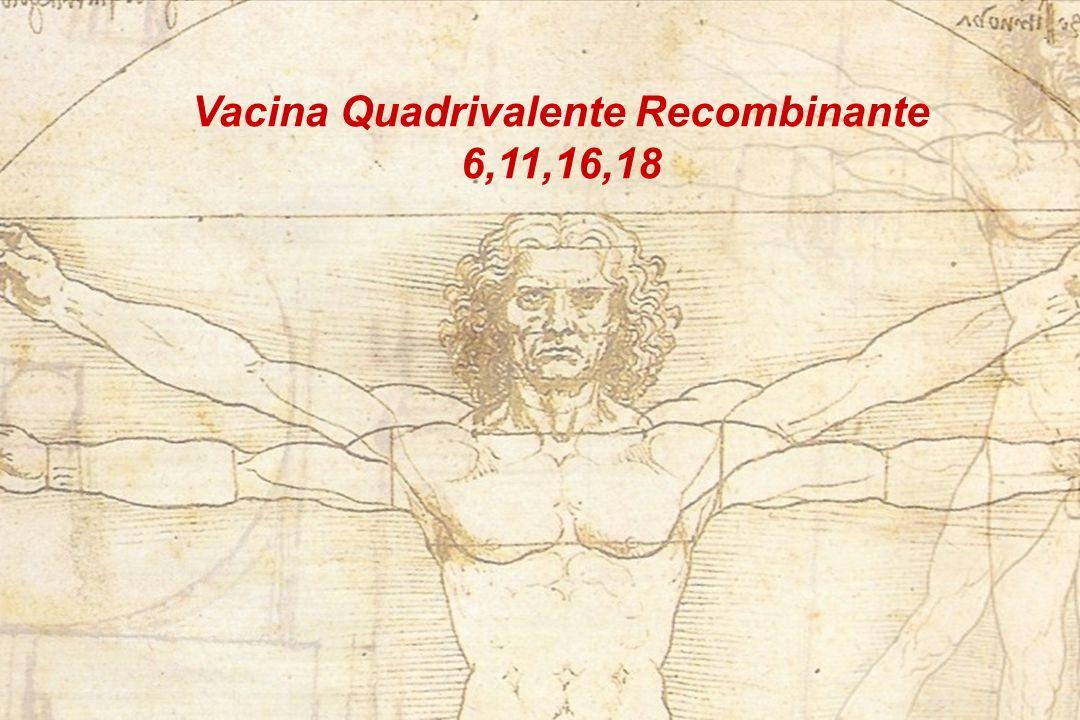 Vacina Quadrivalente Recombinante 6,11,16,18
