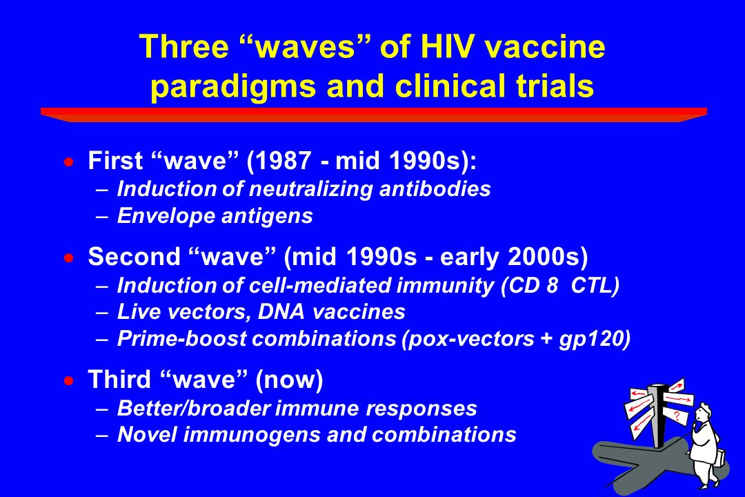 Three waves of HIV vaccine paradigms and clinical trials