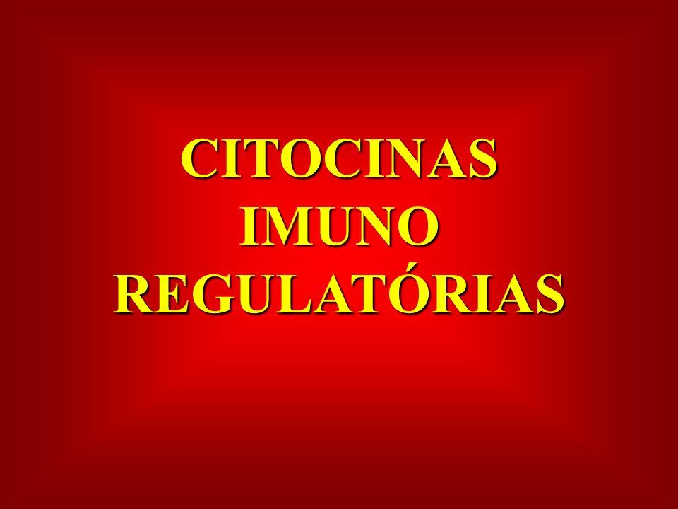 CITOCINAS IMUNO REGULATÓRIAS