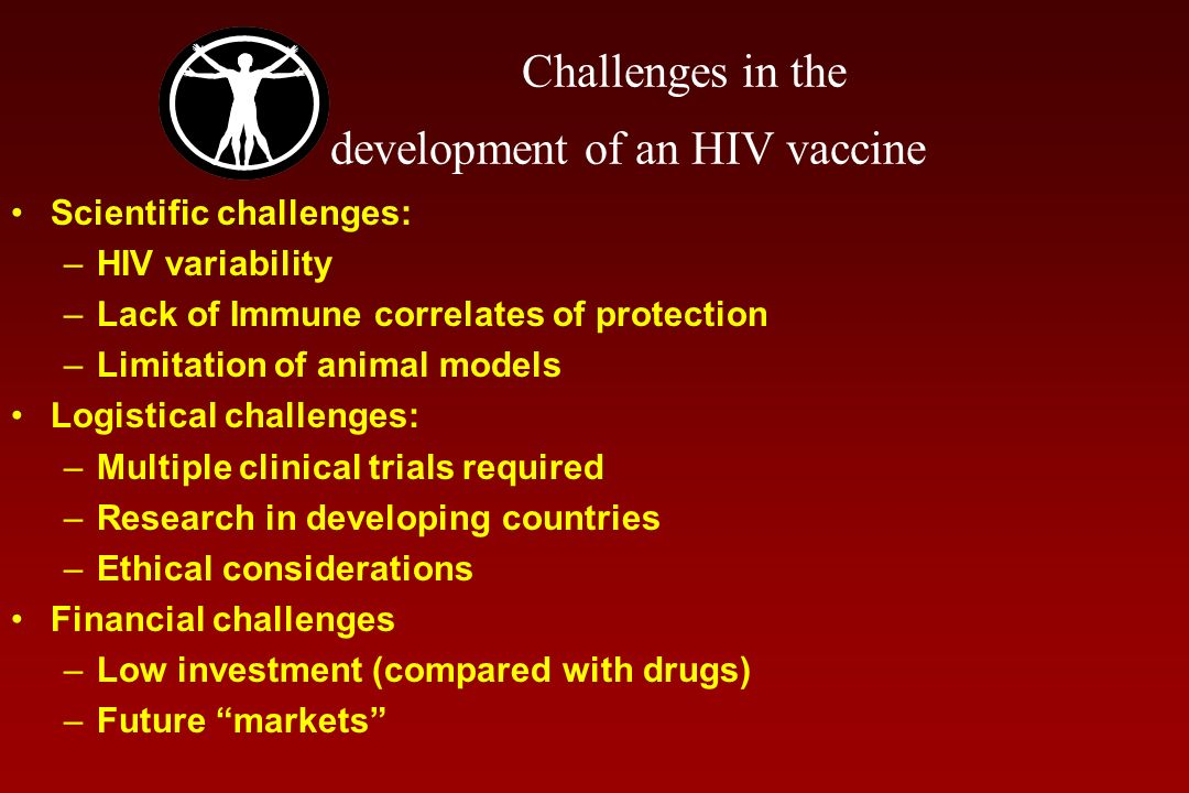 Challenges in the development of an HIV vaccine