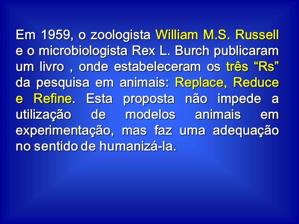 Em 1959, o zoologista William M. S. Russell e o microbiologista Rex L