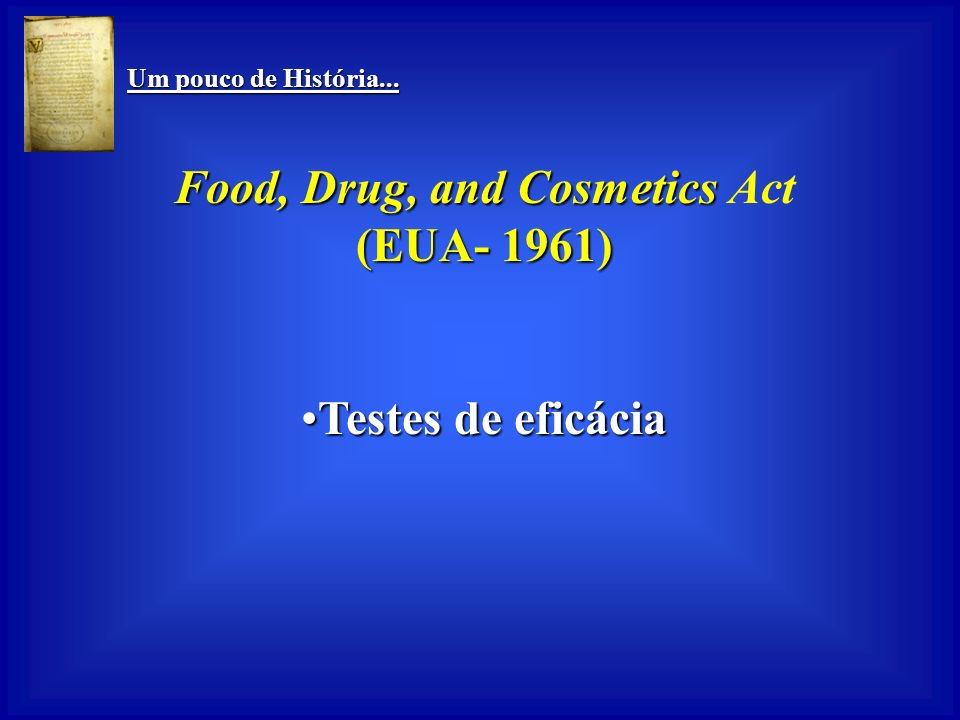 Food, Drug, and Cosmetics Act