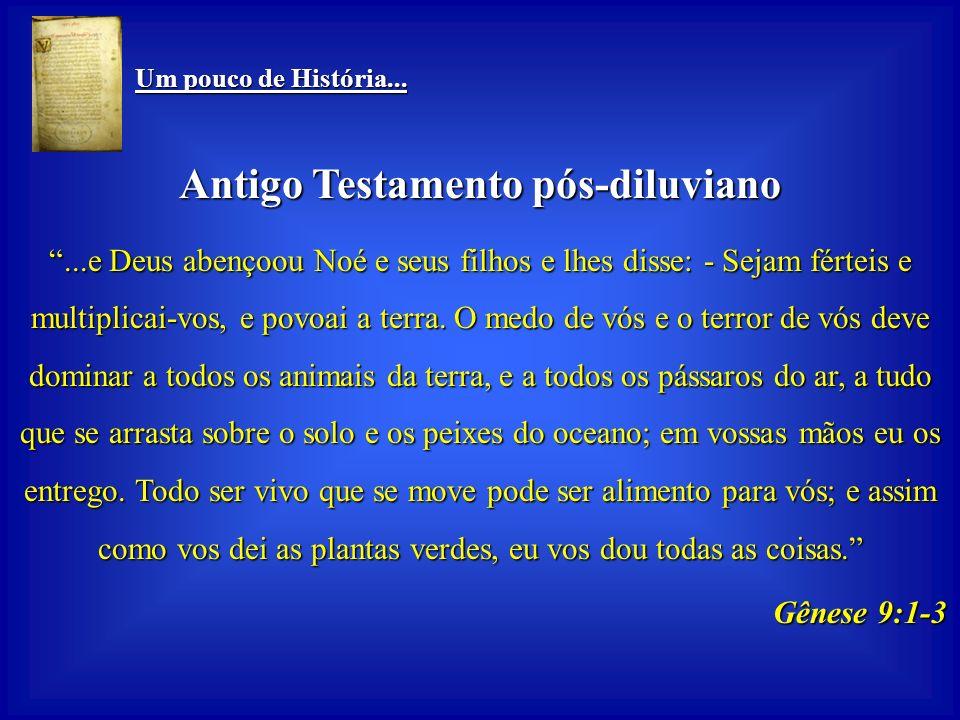 Antigo Testamento pós-diluviano