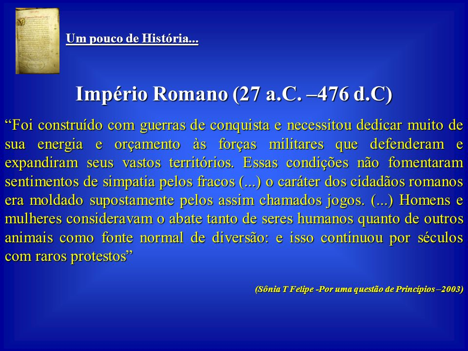 Império Romano (27 a.C. –476 d.C)