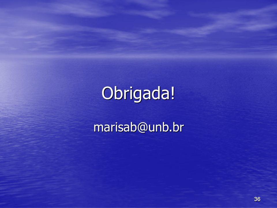 Obrigada! marisab@unb.br