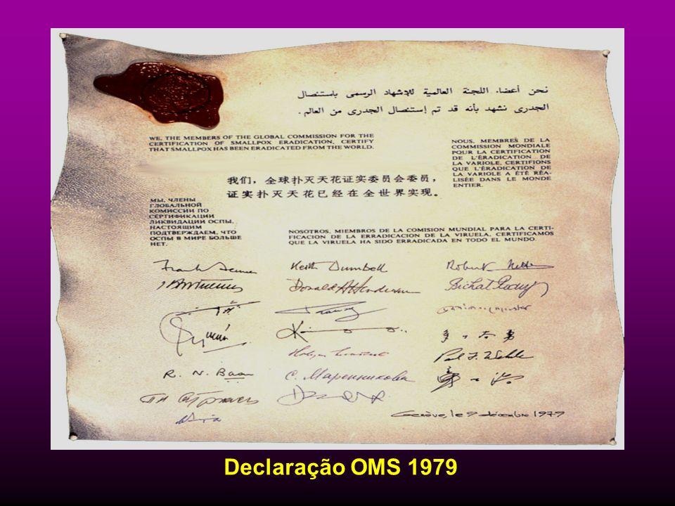 Declaração OMS 1979