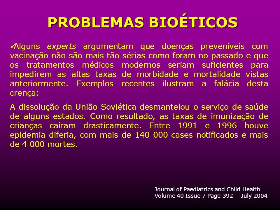 PROBLEMAS BIOÉTICOS