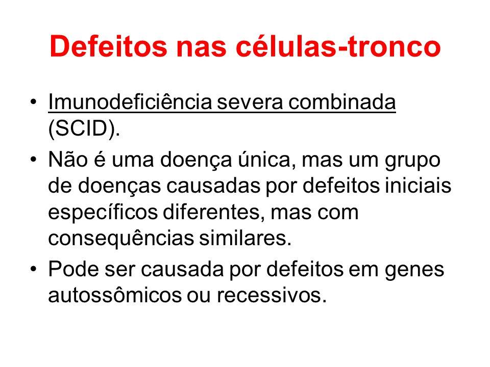 Defeitos nas células-tronco