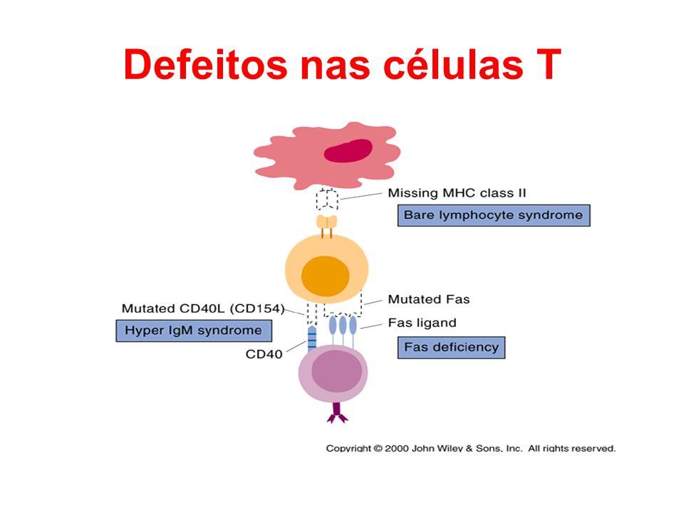 Defeitos nas células T
