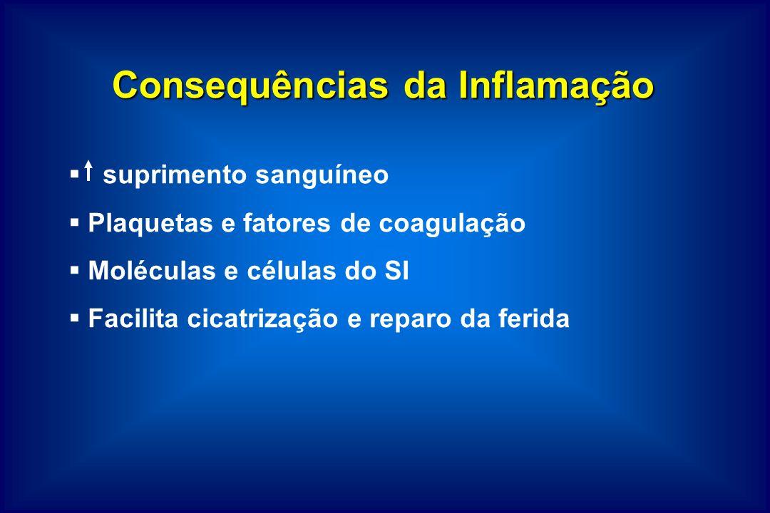 Consequências da Inflamação