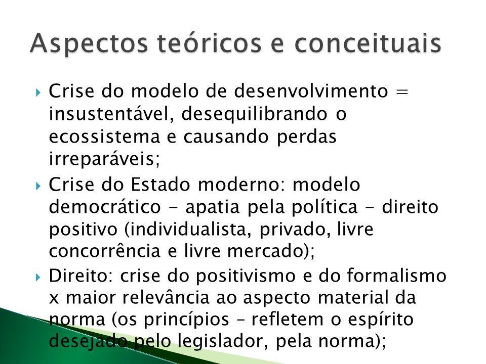 Aspectos teóricos e conceituais
