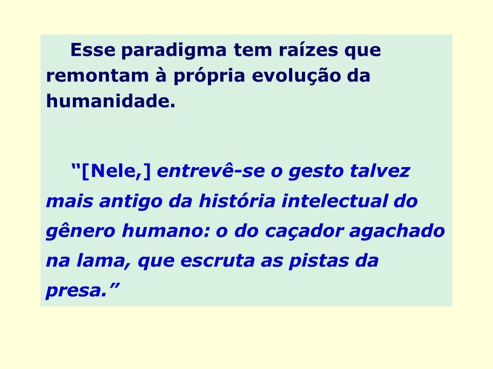 Esse paradigma tem raízes que remontam à própria evolução da humanidade.