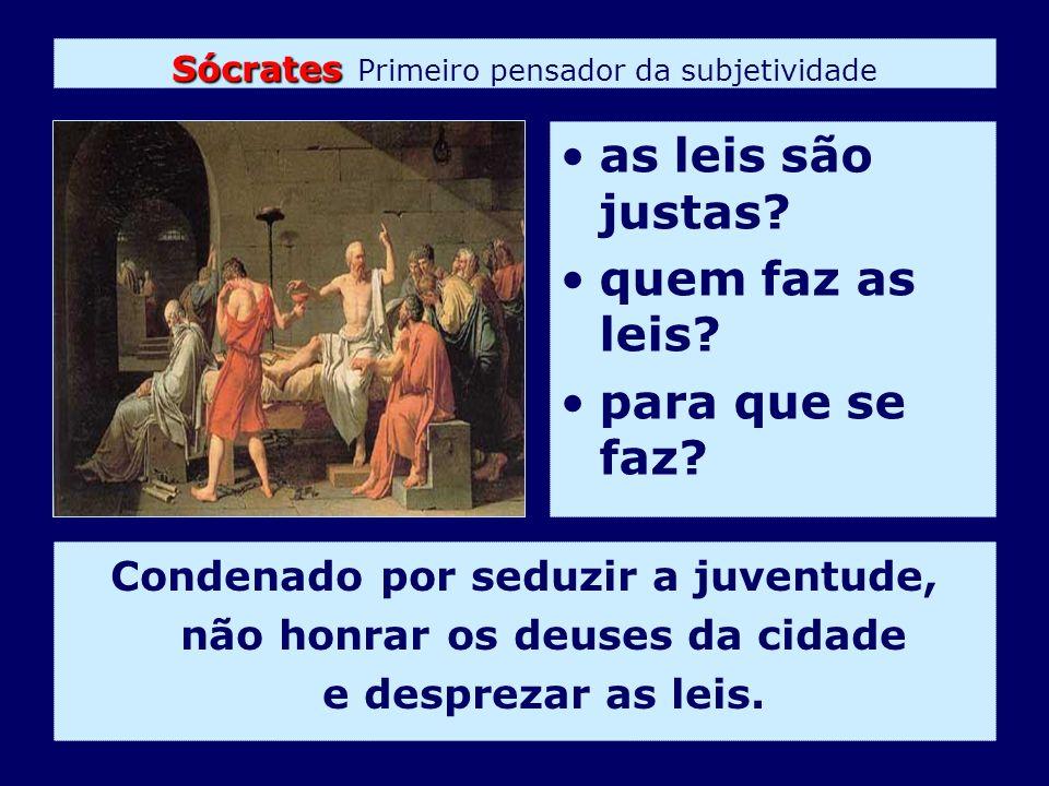 Sócrates Primeiro pensador da subjetividade