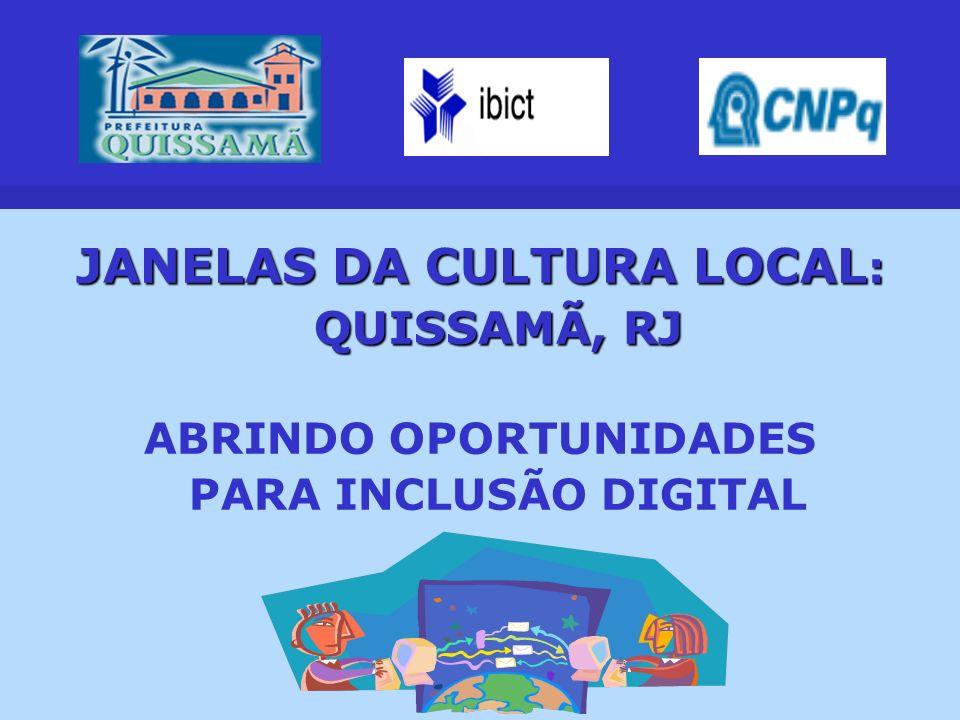 JANELAS DA CULTURA LOCAL: QUISSAMÃ, RJ