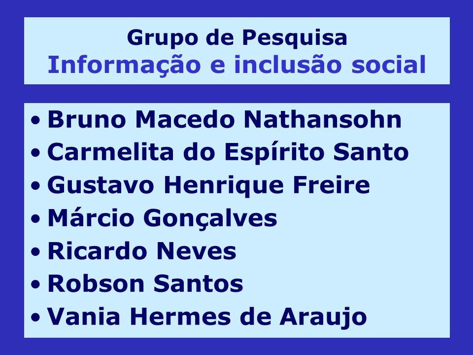 Grupo de Pesquisa Informação e inclusão social