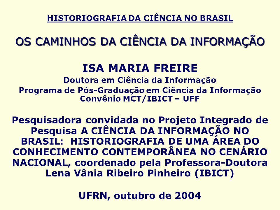Doutora em Ciência da Informação