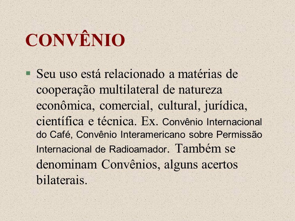 CONVÊNIO