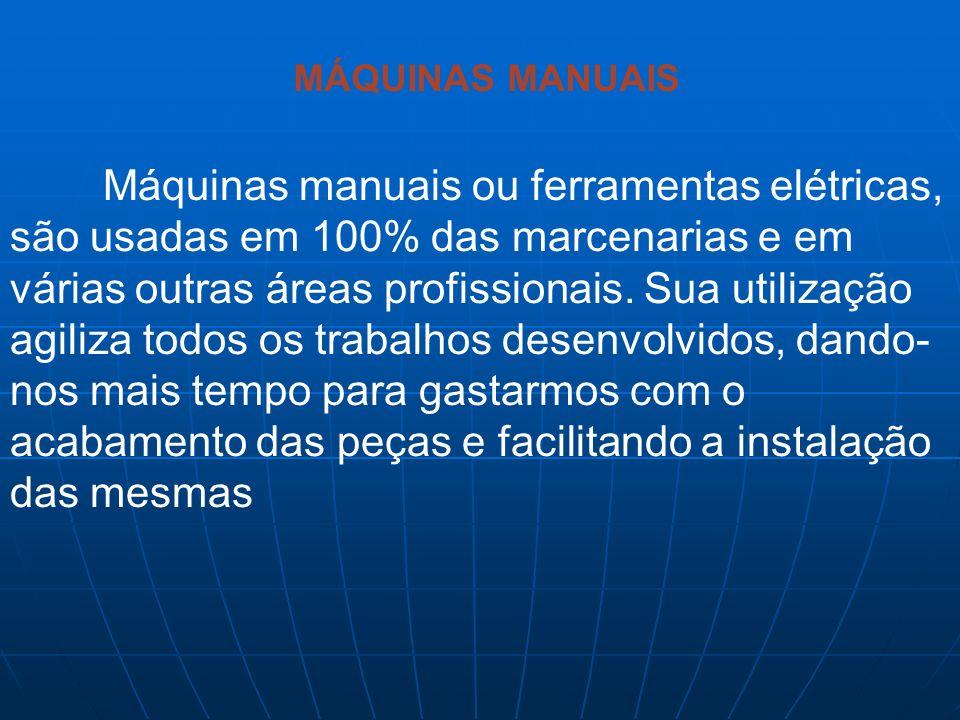MÁQUINAS MANUAIS