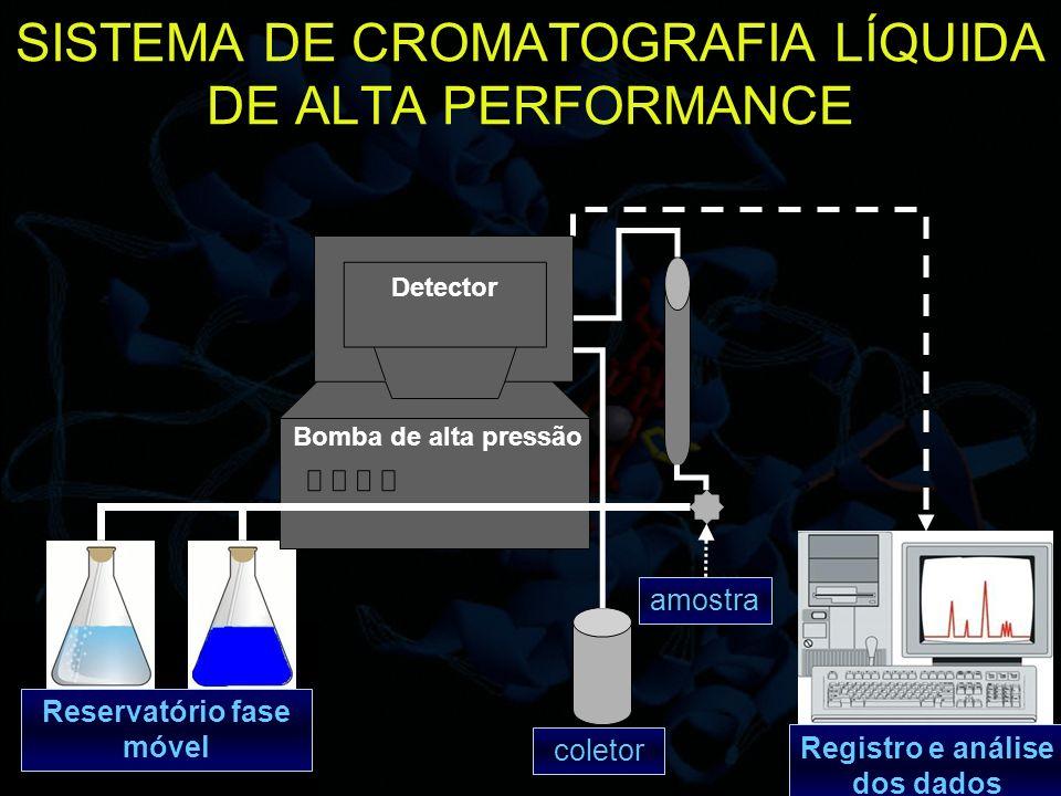 SISTEMA DE CROMATOGRAFIA LÍQUIDA DE ALTA PERFORMANCE