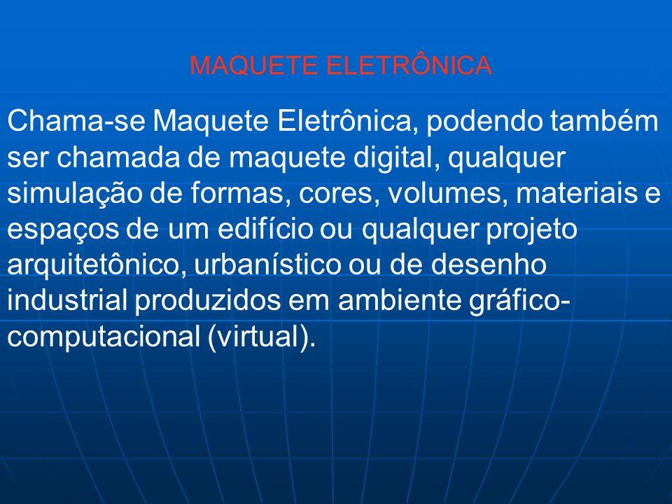 MAQUETE ELETRÔNICA