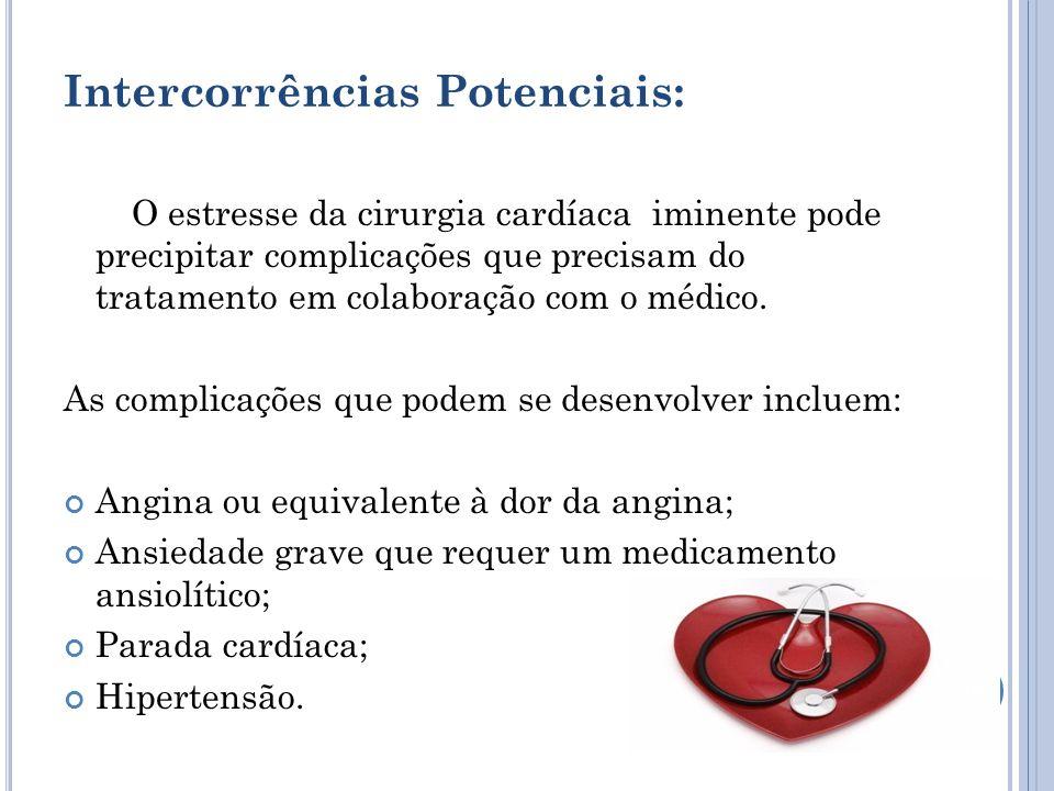 Intercorrências Potenciais: