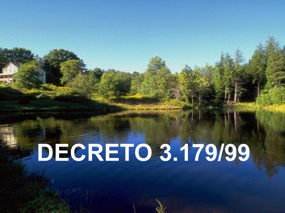 Decreto 3.179/99