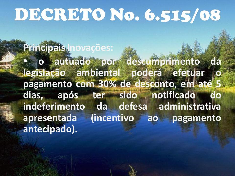 DECRETO No. 6.515/08
