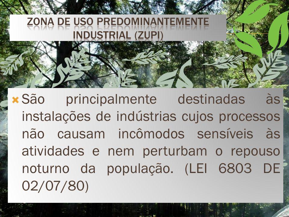 Zona de Uso Predominantemente Industrial (ZUPI)