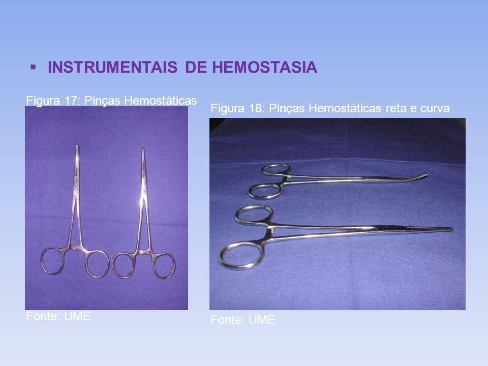 INSTRUMENTAIS DE HEMOSTASIA