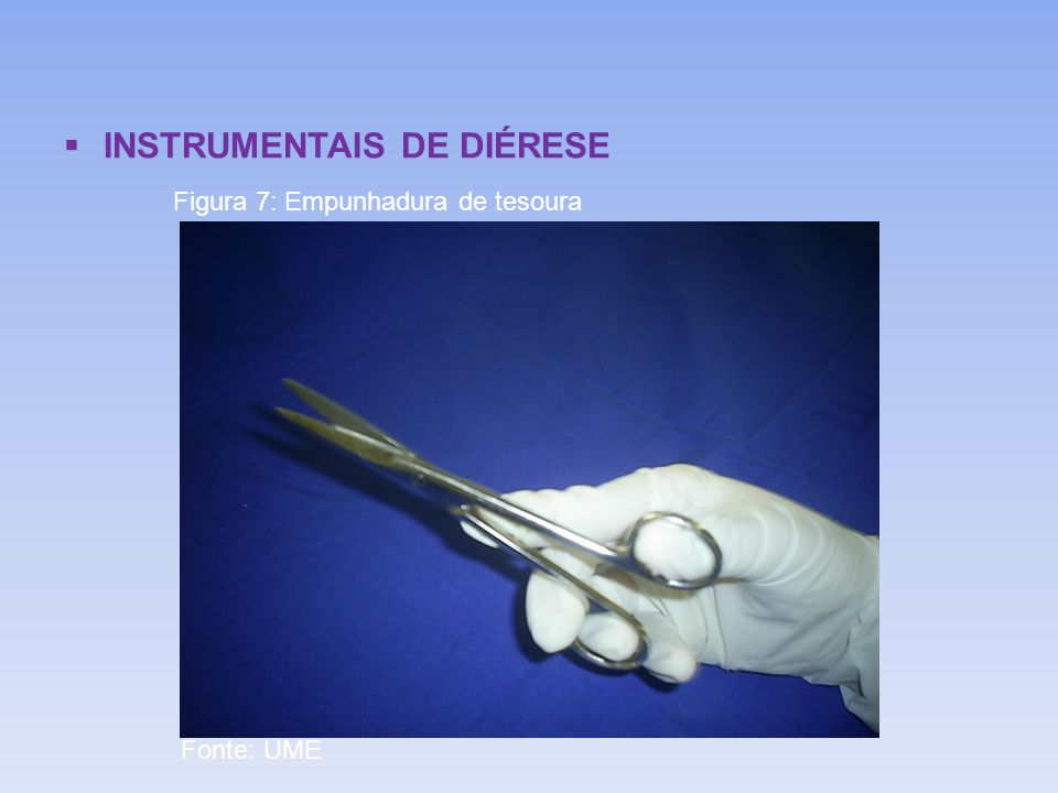 INSTRUMENTAIS DE DIÉRESE