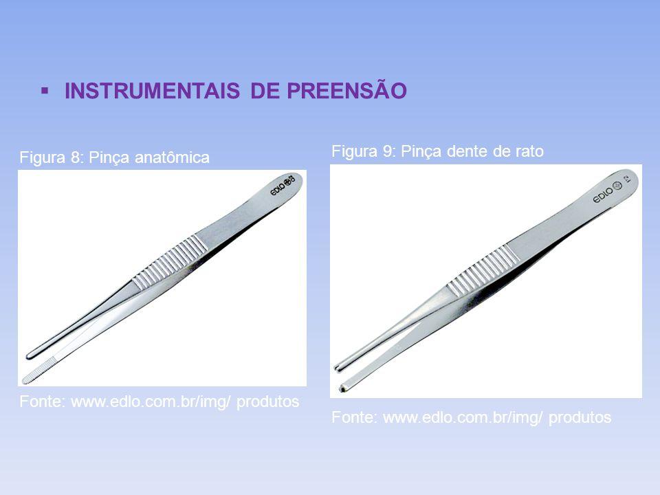 INSTRUMENTAIS DE PREENSÃO