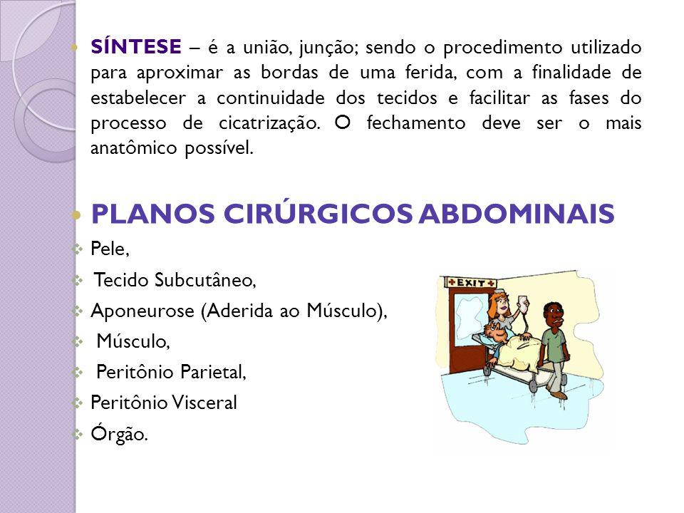 PLANOS CIRÚRGICOS ABDOMINAIS