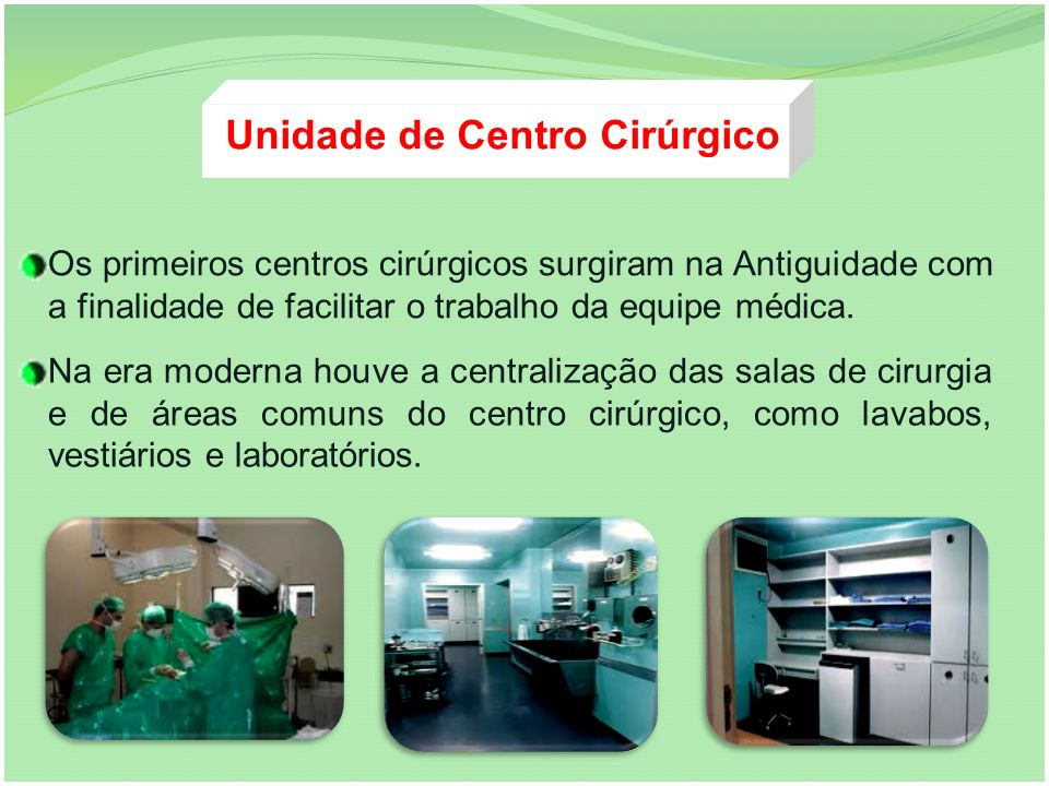 Unidade de Centro Cirúrgico