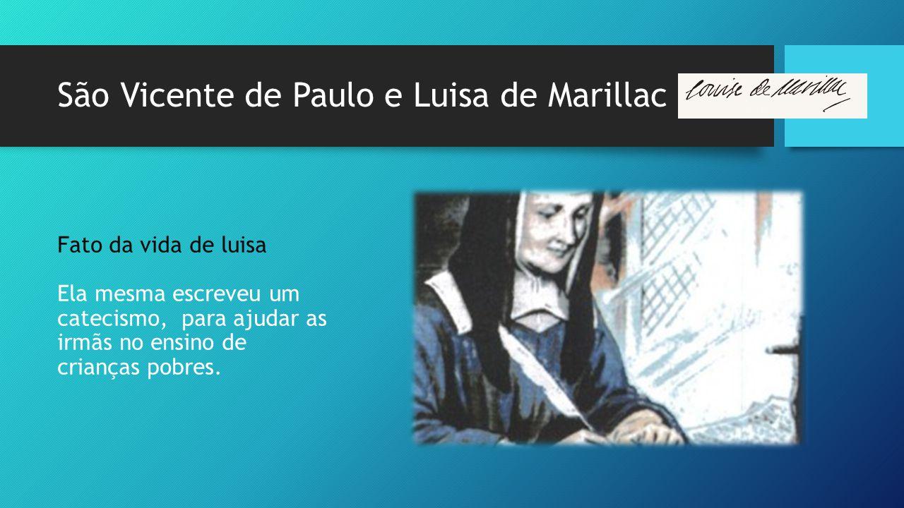 São Vicente de Paulo e Luisa de Marillac