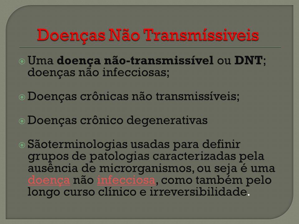 Doenças Não Transmíssiveis