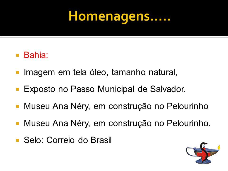 Homenagens..... Bahia: Imagem em tela óleo, tamanho natural,