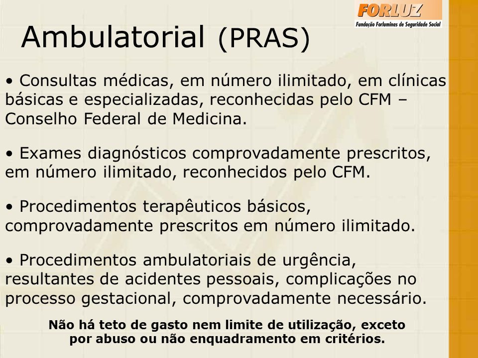 Ambulatorial (PRAS)
