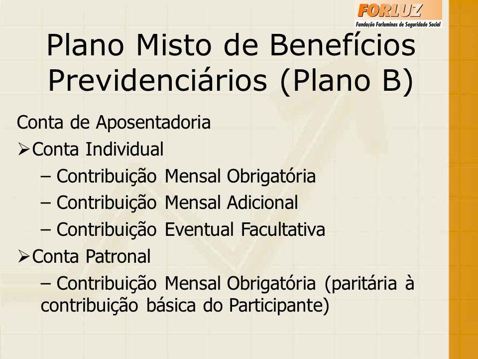 Plano Misto de Benefícios Previdenciários (Plano B)