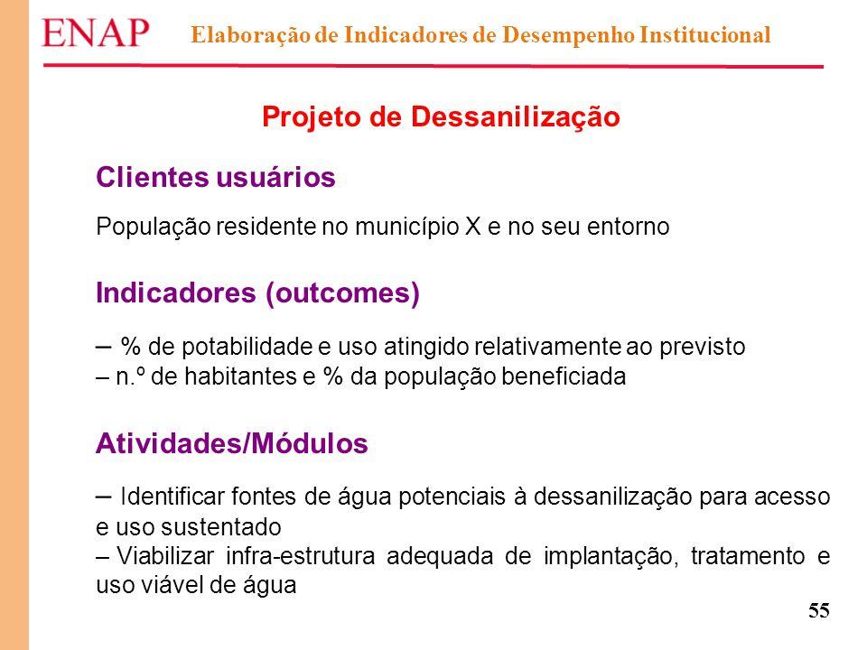 Projeto de Dessanilização