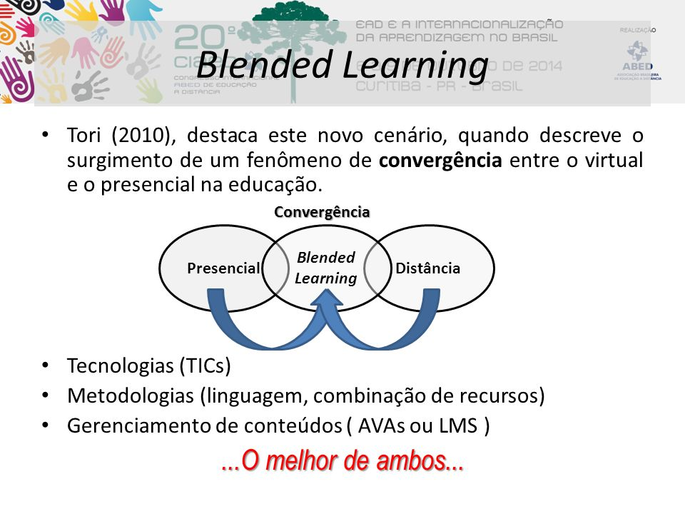 Blended Learning ...O melhor de ambos...